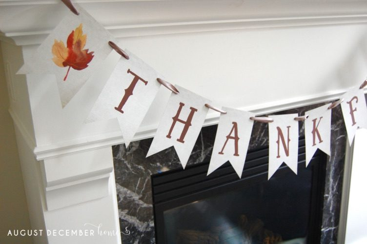 image regarding Printable Thanksgiving Banner named No cost Printable Slide Thanksgiving Banners August December